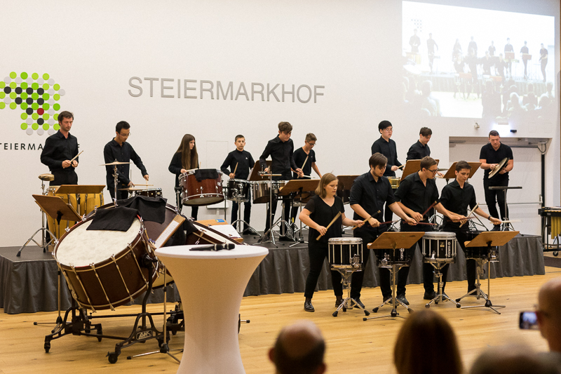 Percussionists United in concert